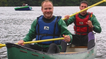 Canoeing in the Lake District